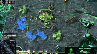 Telenorligaen våren 2015: StarCraft II runde 5, ExG.Civi vs. ROOT.SolO - kamp 4