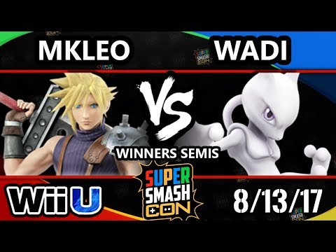 Smash Con 2017 Smash 4 - FOX MVG | MKLeo (Cloud) Vs. EMP | Wadi (Mewtwo) Wii U WS