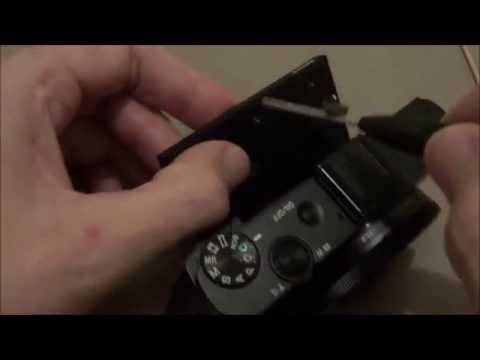 Sony DSC-RX100 M2 LCD screen replacement repair