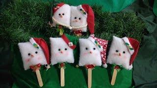 Enfeite de NATAL-boneco de neve