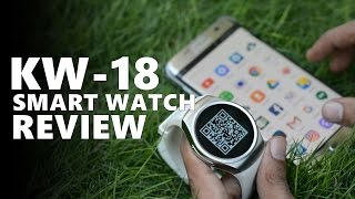 kw18 smart watch full review unboxing