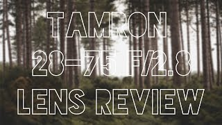 Tamron 28-75mm f/2.8 SP XR Di LD Review with Samples