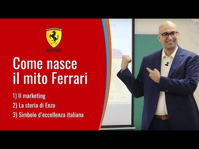 Come nasce il mito Ferrari - presenta Nicola Di Grazia
