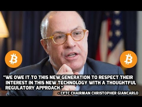 J. Christopher Giancarlo of CFTC Saves Crypto Market - Bull Run Coming! - U.S. Supports Crypto