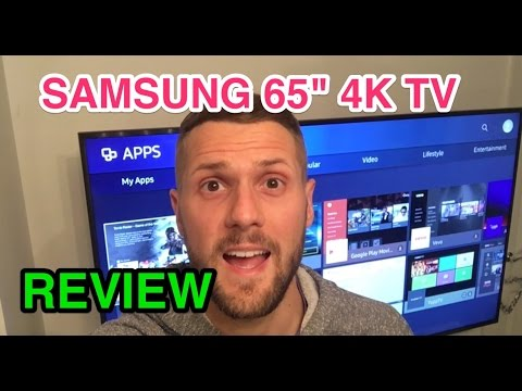 "Samsung Ultra HD 4K 65"" TV review UE65KU6020"
