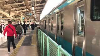 JR京浜東北線E233系宮サイ125編成横浜駅発車