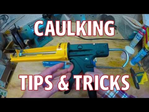 How to Caulking Tips and Secrets Best Dripless Caulking Gun