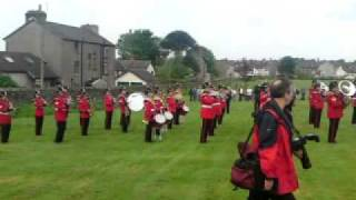 The band and 4th battalion corps of drums of the duke of lancasters regiment