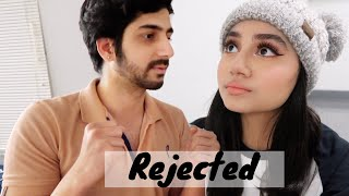 Pakistani girl rejected by crush (live footage)