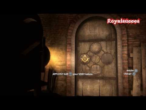 Assassin's Creed III Enigme souterrain New York St Paul's Chapel