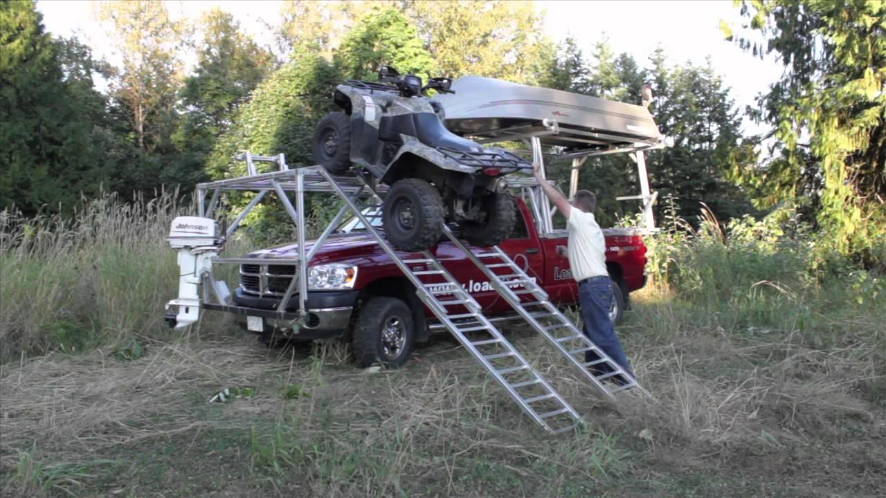 Load It Over The Cab Atv Utv Loading System Youtube