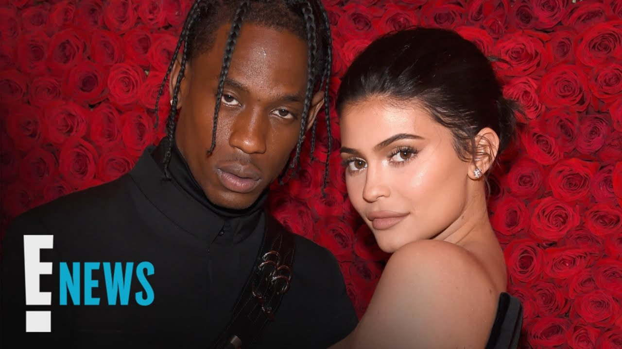 Kylie Jenner Poses in See-Through Dress & Travis Scott Reacts!