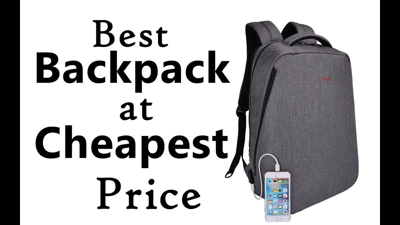 Tigernu Backpack Review. BEST WATERPROOF BACKPACK 2017. Best Backpack for  Travel   College. 9ad84cbf50862