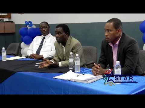 Prime Minister Keith Mitchell tours Ministry of Finance -- Customs and Excise Division (part 2)
