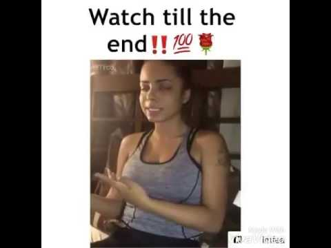 Girl kills it while rapping about her struggle going thru life