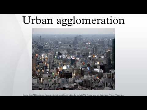Urban agglomeration