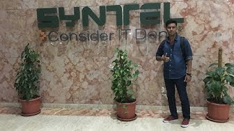 My watch is over in Syntel