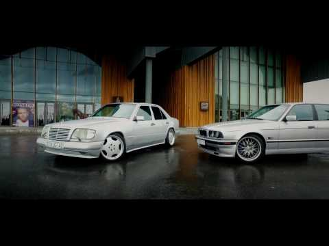 Mercedes W124 & BMW E34 - OldSchool