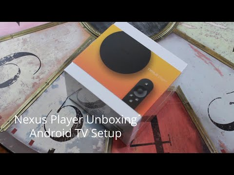Nexus Player Unboxing & Android TV Setup
