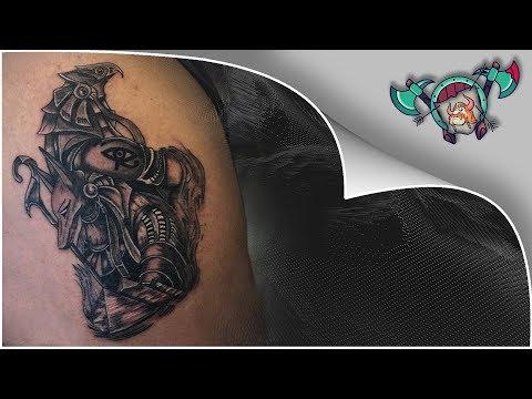 Egyptian Tattoo Time Lapse