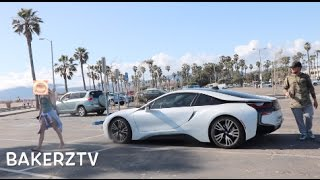 BRUTAL BMW i8 GOLD DIGGER!! CHEATING GIRLFRIEND EXPOSED