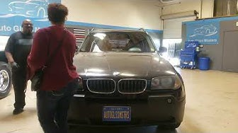 BMW X3 Windshield Replacement