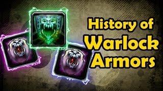 History of Warlock Armors - Demon Skin, Demon Armor, and Fel Armor (Vanilla WoW to BfA)