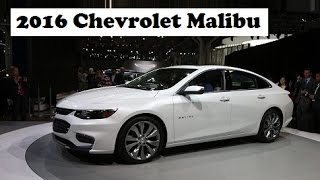 2016 Chevrolet Malibu, the most searched automobile of 2015 in the US on Google