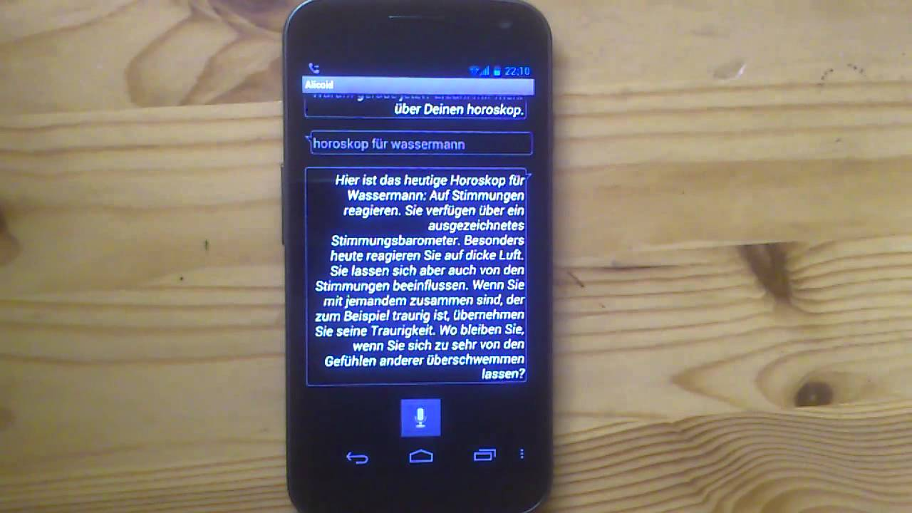 Android Sprachassistent