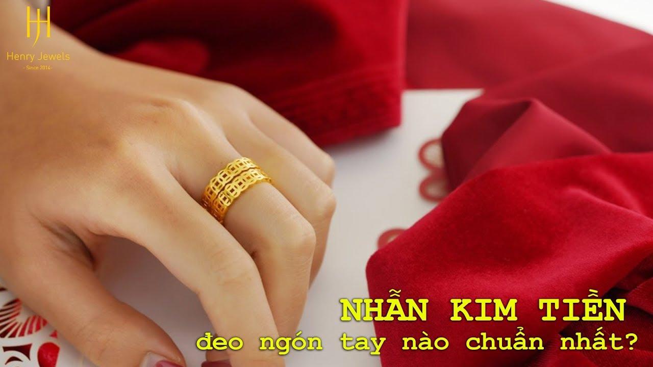 Nhẫn kim tiền đeo ngón nào tốt nhất về mặt phong thủy?