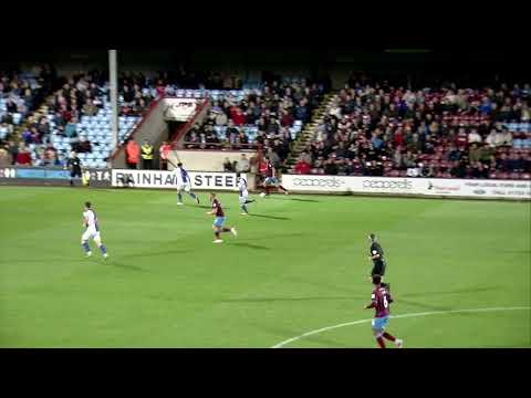 Highlights: Scunthorpe United 0 Blackburn Rovers 1
