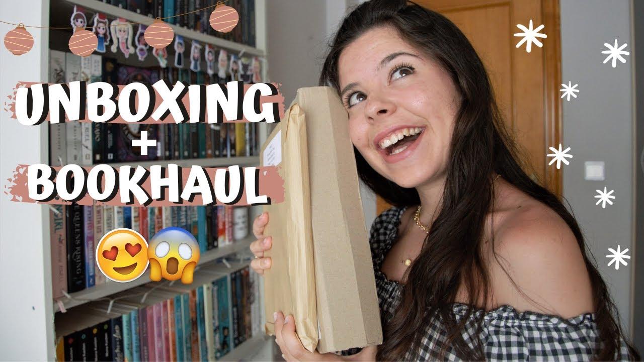 UNBOXING + BOOKHAUL🌺| Novedades y libros que me moría por tener!