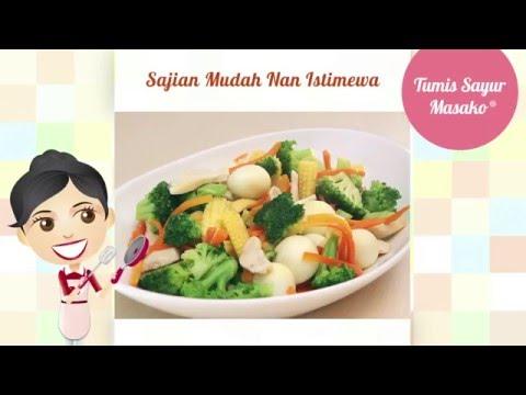 Dapur Umami - Tumis Sayur Masako