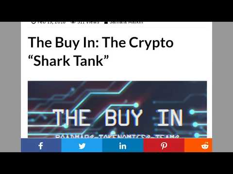The Buy In is a Crypto Shark Tank Show