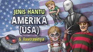 Download Jenis Hantu Amerika USA & Ilustrasinya #HORORTIME   Kartun Hantu & Cerita Misteri Horor, Annabelle