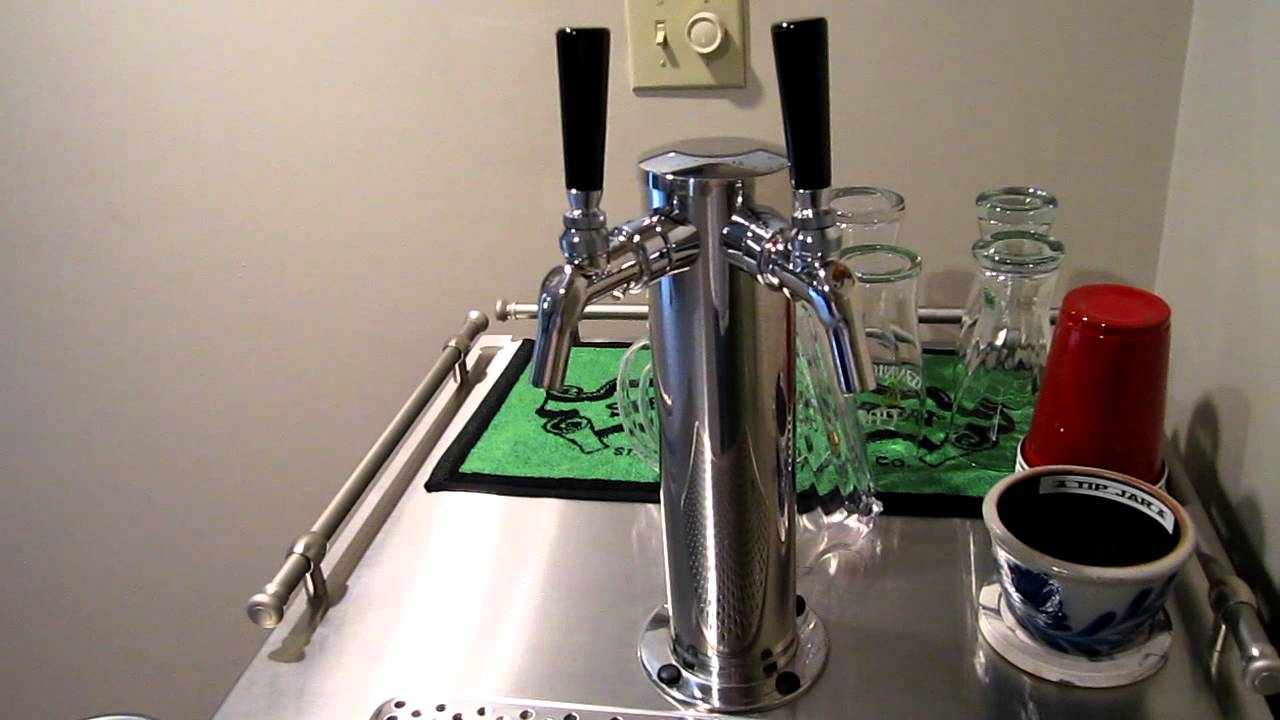 UBC Keg Master w/ Perlick Faucets - YouTube