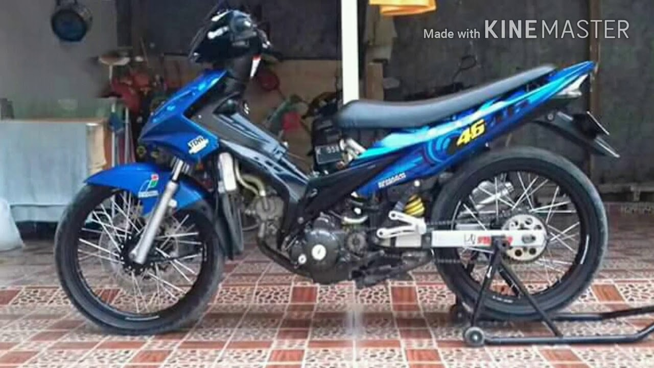 Modifikasi jupiter mx old new indonesia