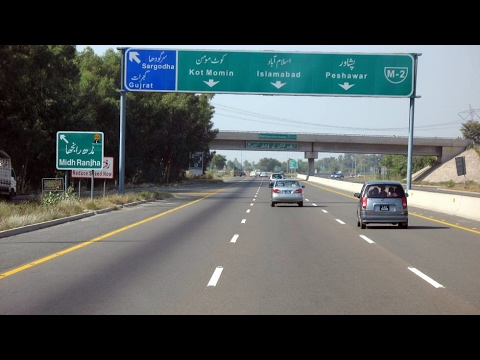 Lahore to Islamabad Motorway