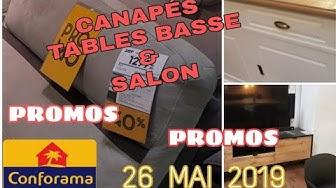 ARRIVAGE CONFORAMA - 26 MAI 2019 - CANAPÉS SALON - PROMOS