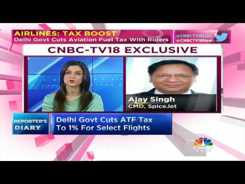 AIRLINES: TAX BOOST. Delhi Govt Cuts ATF Tax With Riders