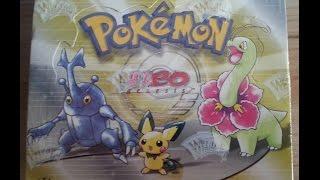 Unboxing! Neo Genesis Pokémon Booster Display 1. Edition Deutsch - Teil 1 von 2