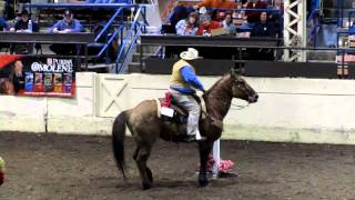 Craig Cameron Extreme Cowboy Race,Ill Horse Fair  2011