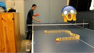 These ping pong trick shots will blow your MIND!