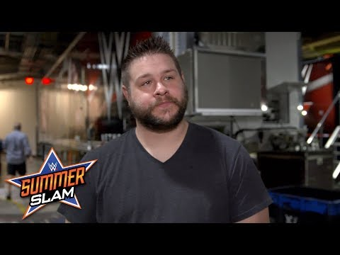 Kevin Owens takes a walk when asked about his fear of Braun Strowman: Exclusive, Aug. 19, 2018