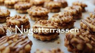 Plätzchen backen : ♥♥♥ Rezept Nugatterrassen ♥♥♥