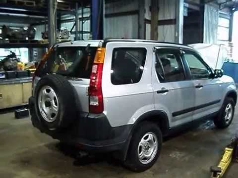 Parting out a 2004 Honda CR-V-150022-AA Auto Salvage