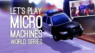 Micro Machines World Series Gameplay: Let's Play New Micro Machines - NOW WHO HAS THE HAMMER?