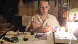 v.01 Arduino Включение света и отправка ИК сигнала с помощью хлопка Clap Switch