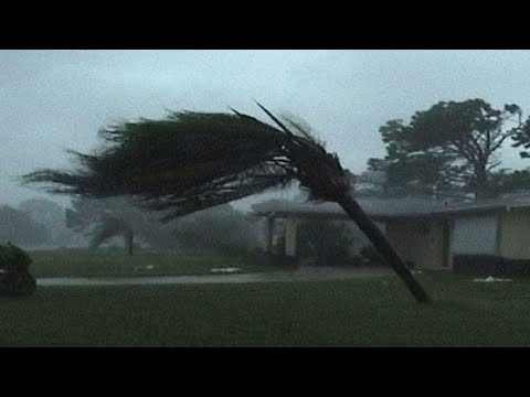 Live Footage Hurricane Irma, Key West Florida 9-10-2017