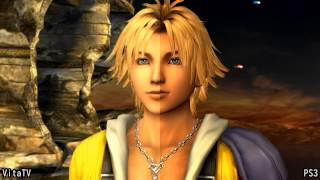 PSVitaTV vs PS3 Final Fantasy X HD Remaster 1080i 画質比較 Graphics Comparison